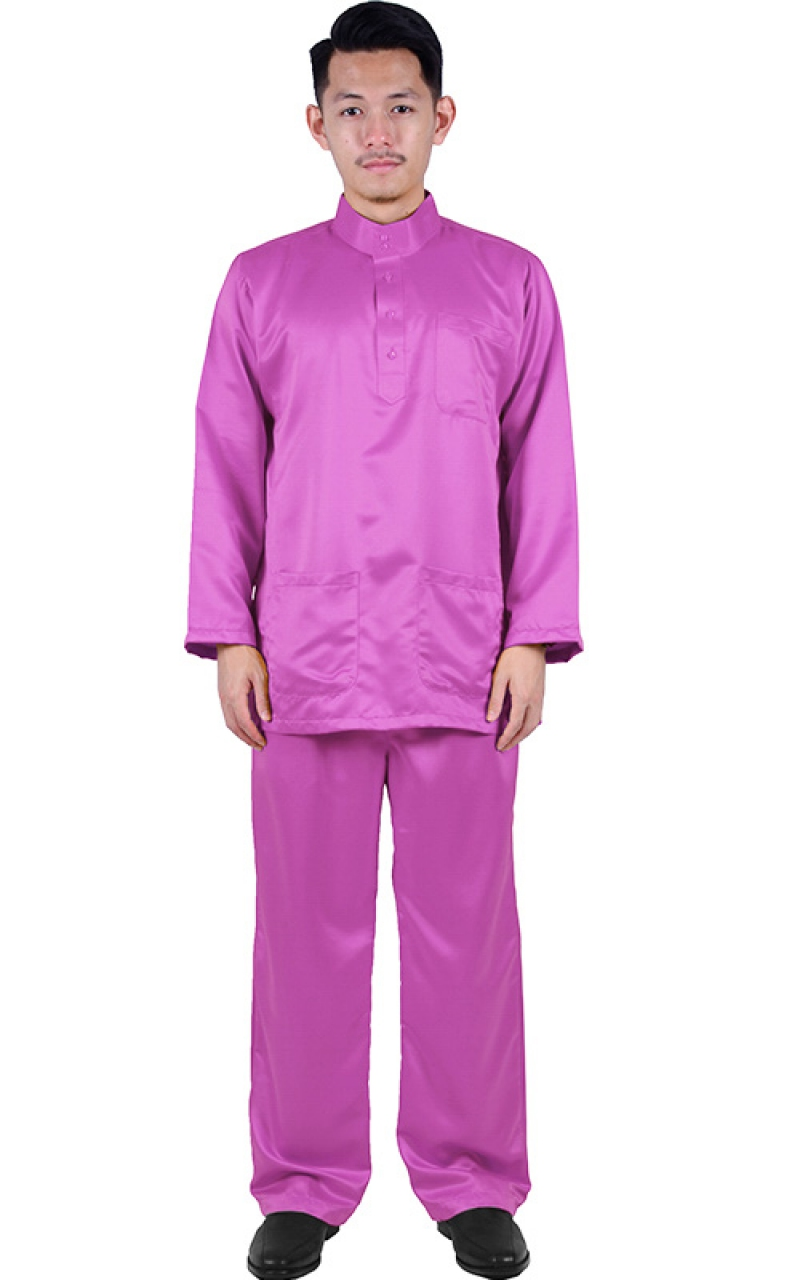 BAJU MELAYU NOAH - PURPLE - Baju Melayu - Men bda6b1f8ee