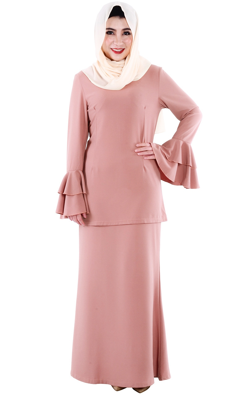 M teana baju kurung modern dusty rose baju kurung women jpg 800x1280 Kurung  modern c53b894336