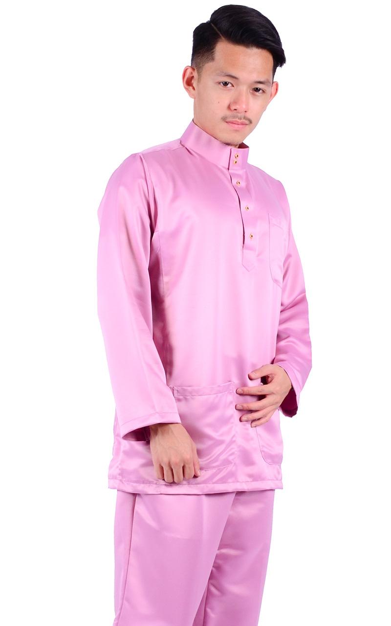 BAJU MELAYU HAFIY - ORCHID - Baju Melayu - Men 85e6b96c8c