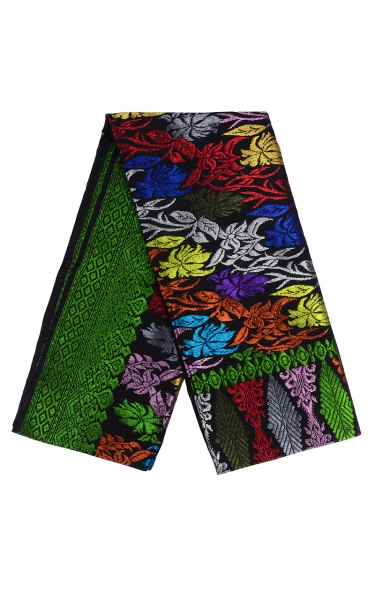 SAMPIN SONGKET BADRA i - GREEN BLACK