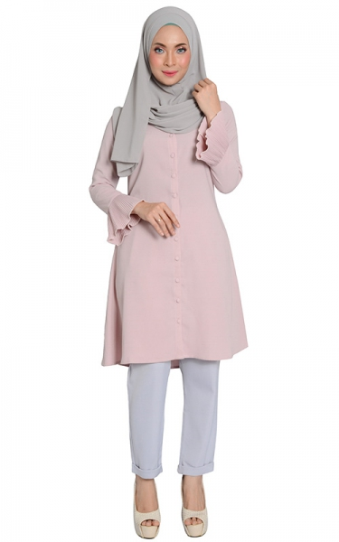 AULEA TUNIC - ROSY BROWN