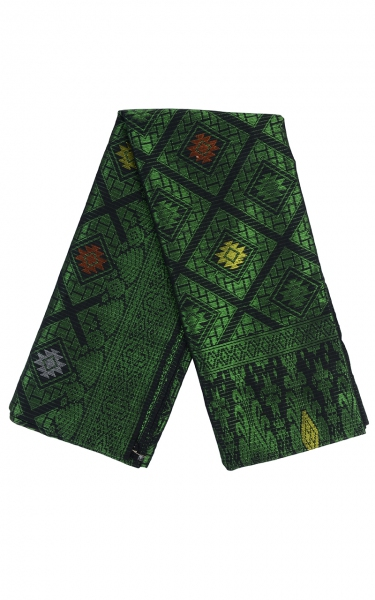SAMPIN SONGKET IFFAT i - GREEN BLACK
