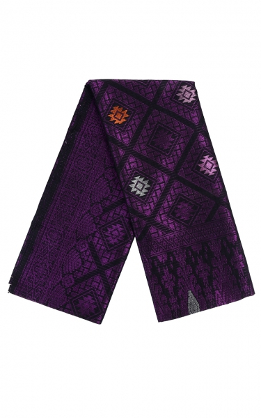 SAMPIN SONGKET IFFAT i - PURPLE BLACK