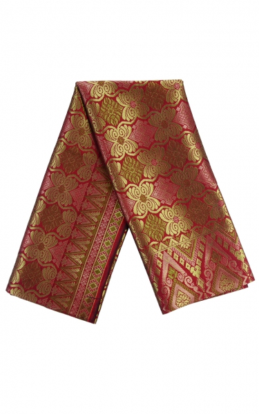 SAMPIN SONGKET ABID iii - DEEP RED
