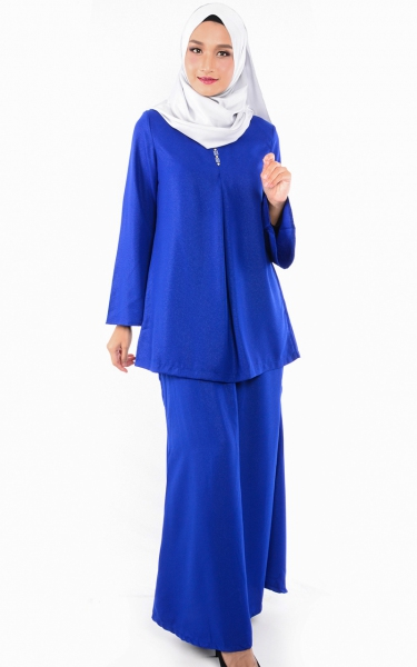 (FAMILY SET) BAJU KURUNG CATALINA - BLUE