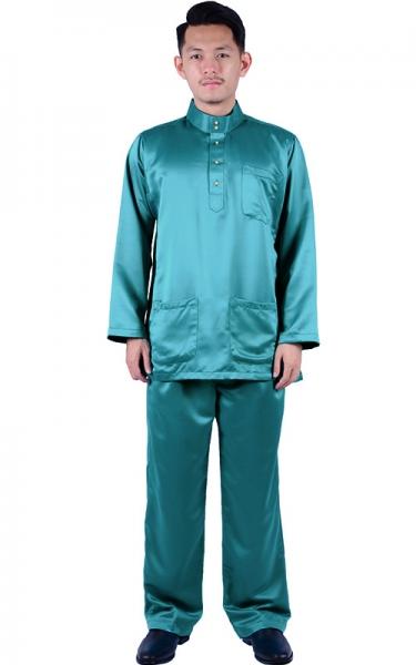 BAJU MELAYU HAFIY - LAVENDER - Baju Melayu - Men f55cac513d