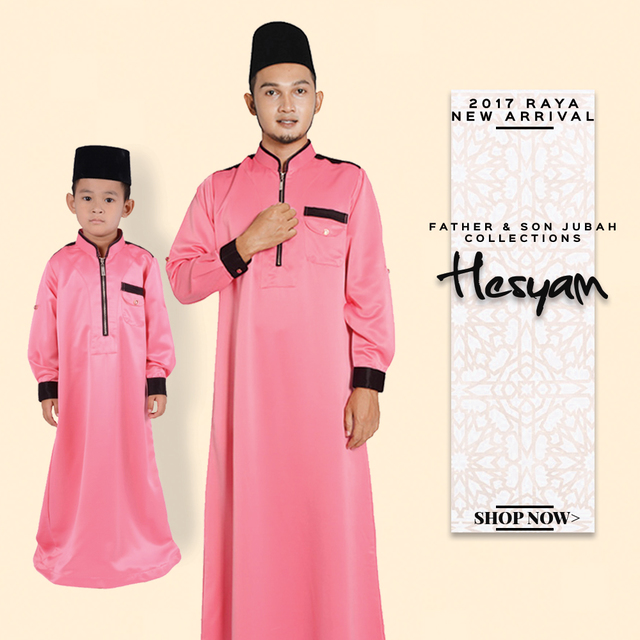Father & Son Collection (Jubah Hesyam)